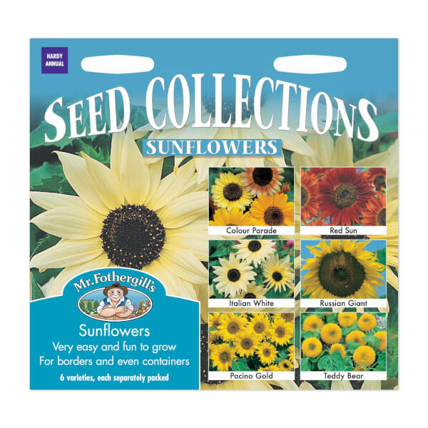 Mr. Fothergill's Sunflowers Collection Seeds