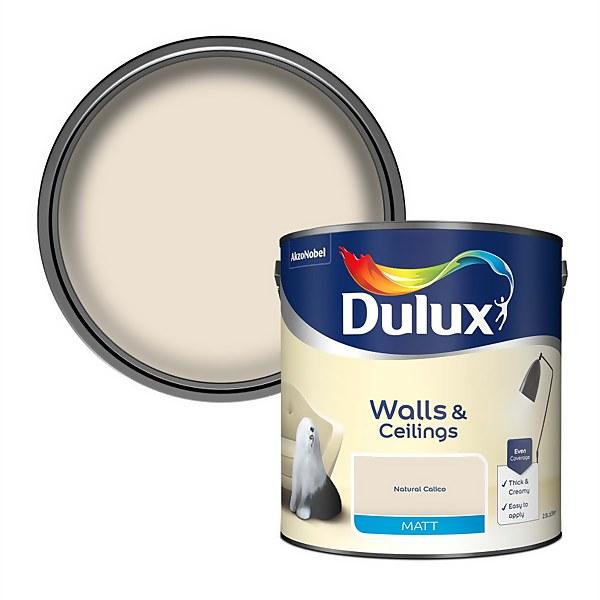 Dulux Calico - Matt Emulsion Paint - 2.5L