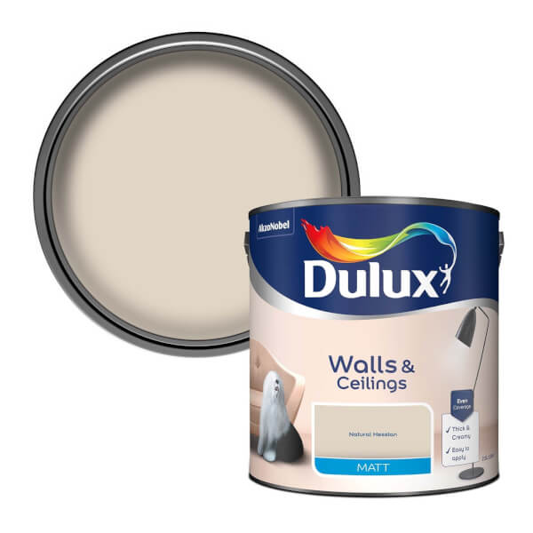Dulux Natural Hessian - Matt Emulsion Paint - 2.5L