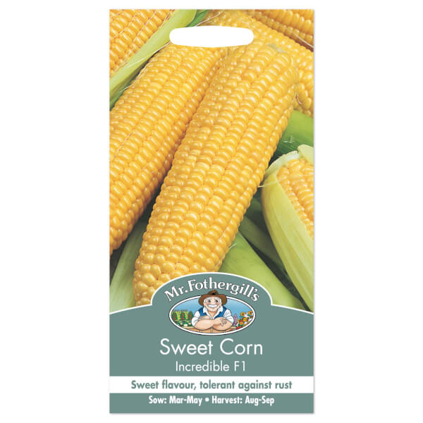 Mr. Fothergill's Sweet Corn Incredible F1 Seeds