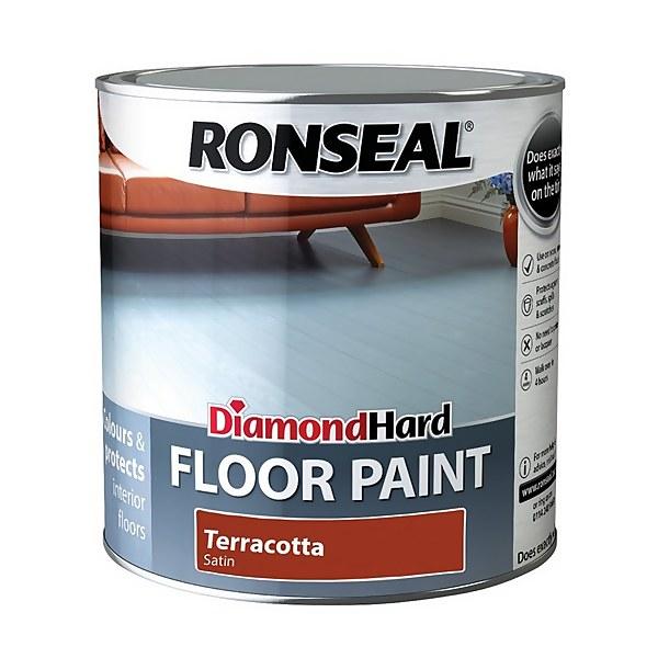 Ronseal Diamond Hard Terracotta - Floor Paint - 2.5L