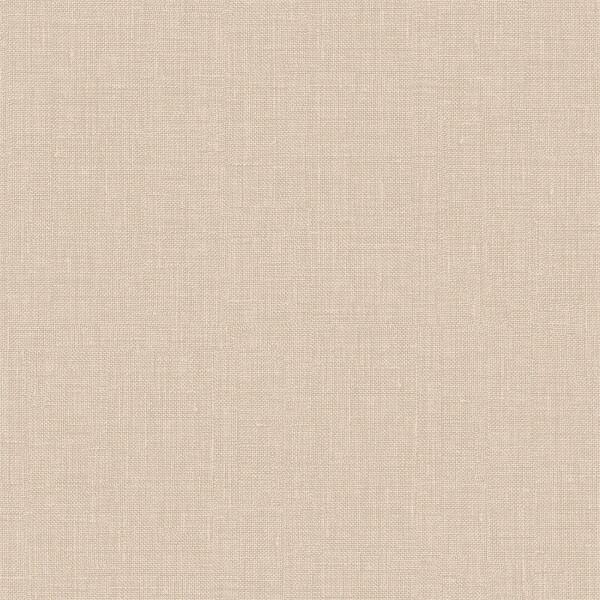 Belgravia Decor Rosa Textured Linen Effect Natural Wallpaper