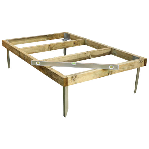 Mercia 6x4ft Pressure Treated Wooden Shed Base