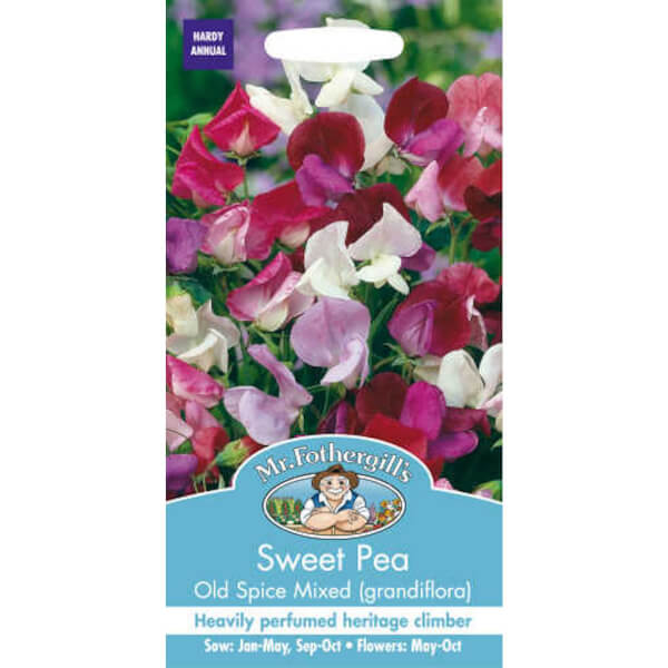 Sweet Pea Old Spice Mixed (Lathyrus Odoratus) Seeds