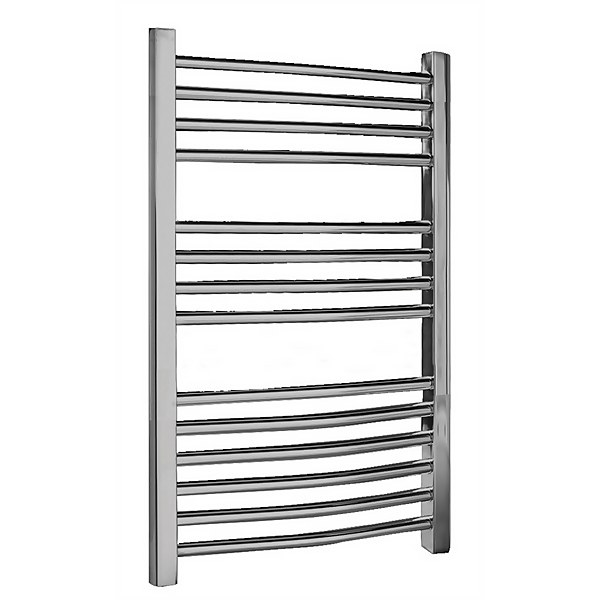 Balterley Curved Ladder Rail - 700 x 500mm - Chrome