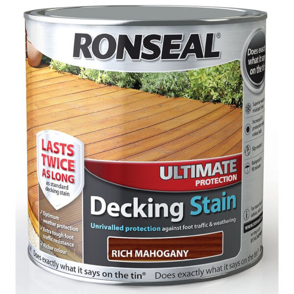 RONSEAL UIT PROTECTION DECKING STAIN R.M