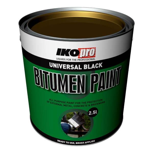 IKOpro Black - Bitumen Paint - 2.5L
