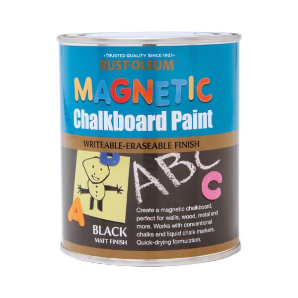 Rust-Oleum Magnetic Chalkboard Paint - 750ml