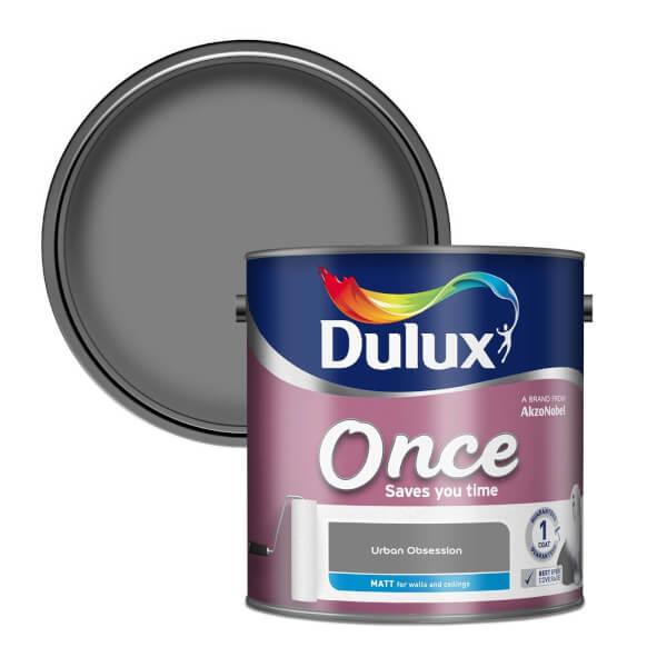 Dulux Once Urban Obsession - Matt Paint - 2.5L