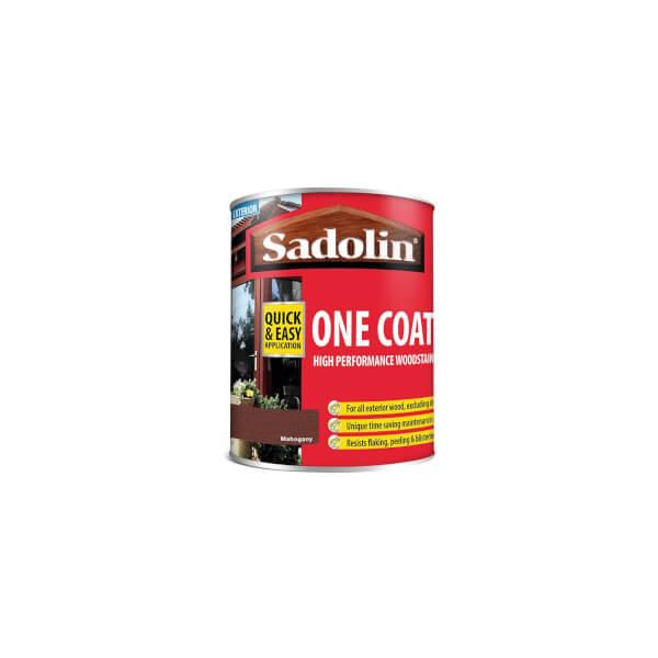 Sadolin Advanced One Coat Mahogany Woodstain - 750ml
