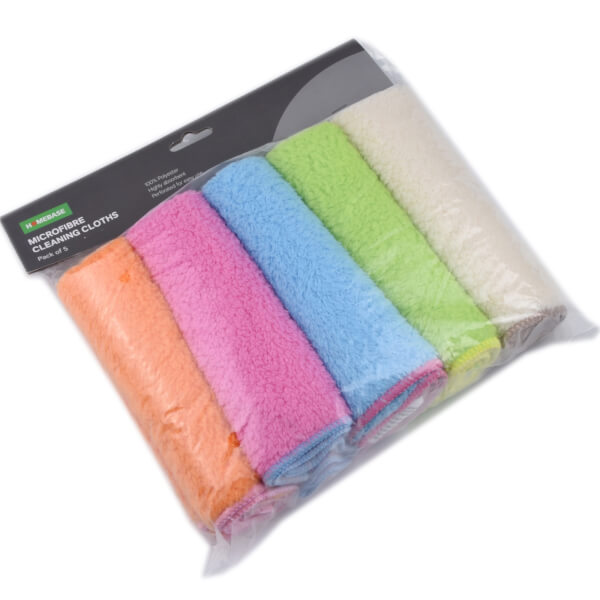 Microfibre Cleaning Cloth - 5 Pack