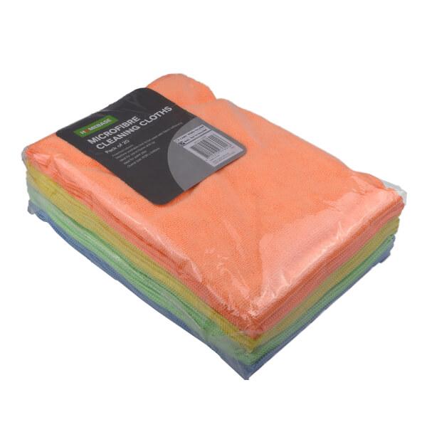 Microfibre Cloth - 30 x 40cm - 20 Pack
