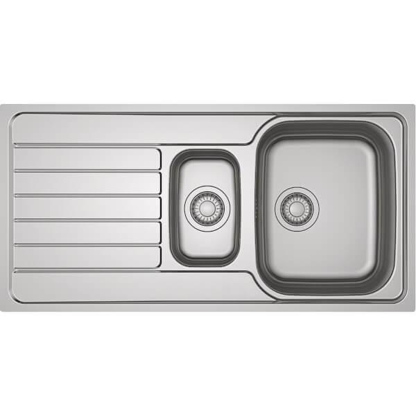 Franke Spark Reversible Kitchen Sink - 1.5 Bowl