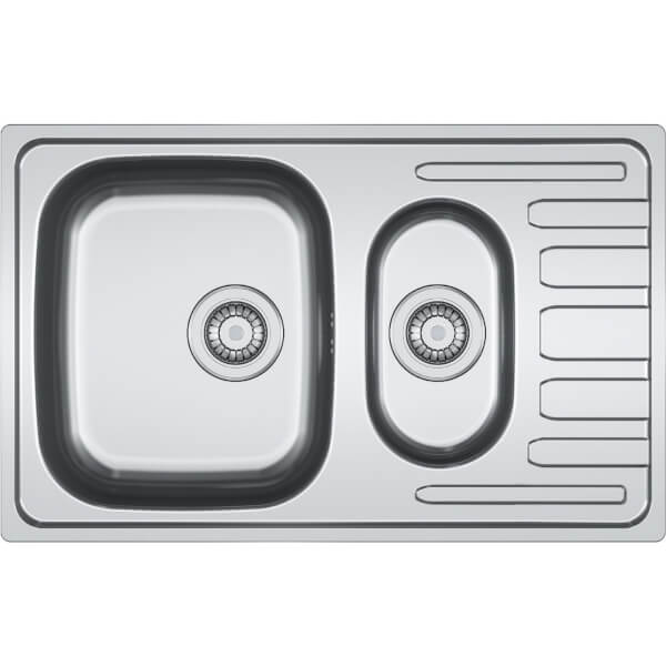 Estillo Compact Kitchen Sink - 1.5 Bowl