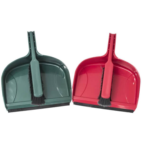 Jumbo Dustpan & Brush Set