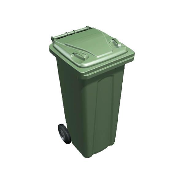 Wheeled Green Bin - 140L