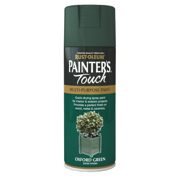 Rust-Oleum Satin Spray Paint - Oxford Green - 400ml