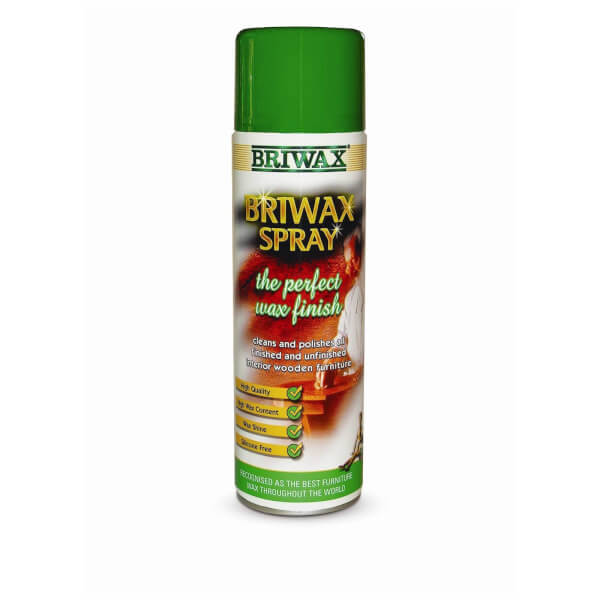 Briwax Spray Polish - Satin