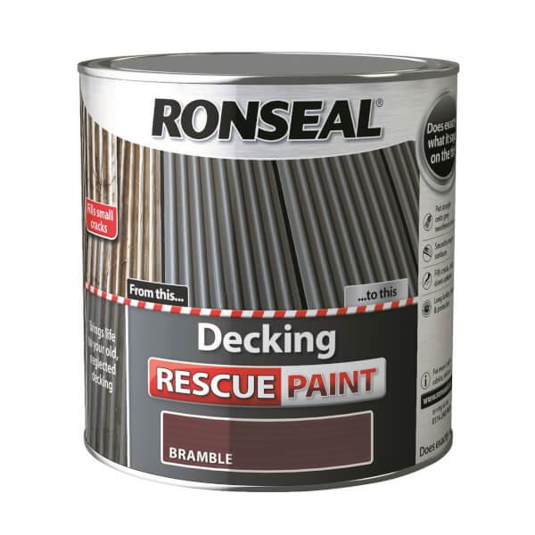 Ronseal Decking Rescue Paint Bramble - 2.5L