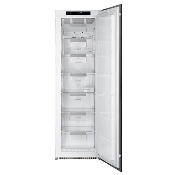 Smeg UKS7220FNDP1 Intergrated Column Freezer - White