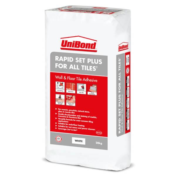 UniBond Rapid Set Plus for All Tiles 20kg