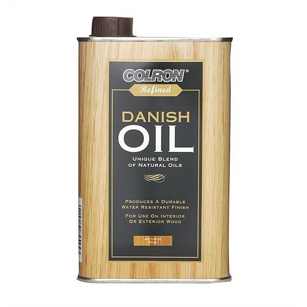Colron Refined Danish Oil Antique Pine - 500ml
