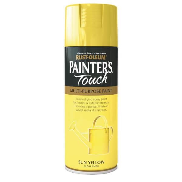 Rust-Oleum Gloss Spray Paint - Sun Yellow - 400ml