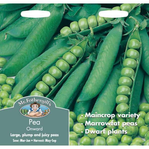 Mr. Fothergill's Pea Onward (Pisum Sativum) Seeds