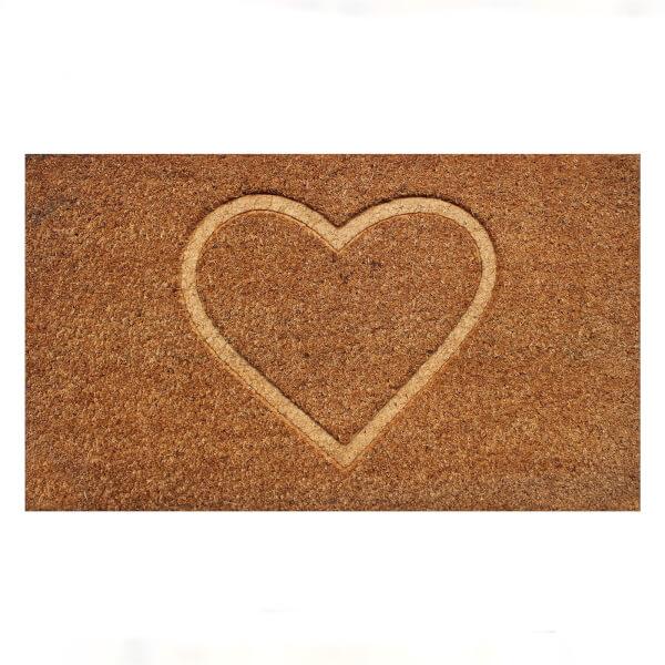 Heart Doormat