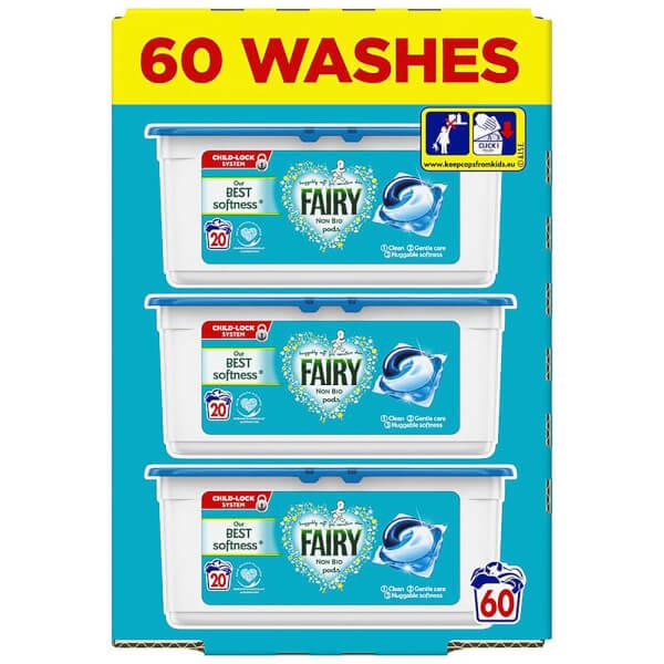 Fairy Non Bio Washing Capsules - 60W