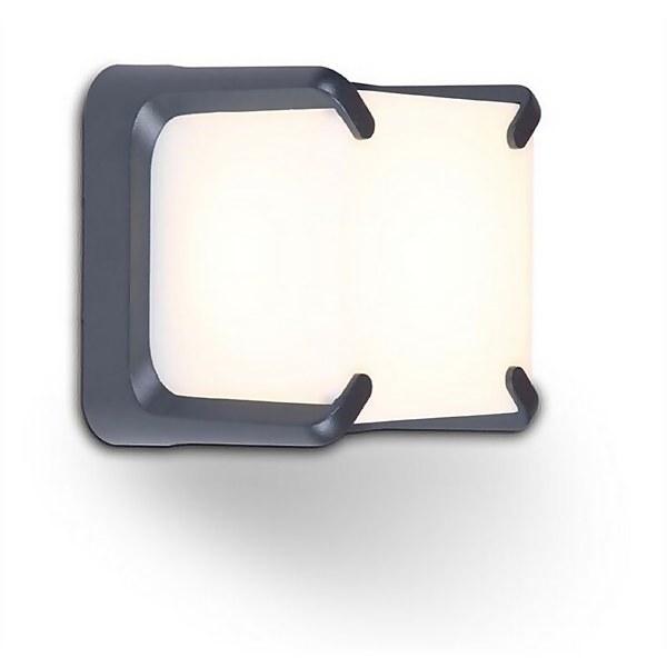 Lutec Armor 8 x LED 11W IP54 Wall Light - Graphite