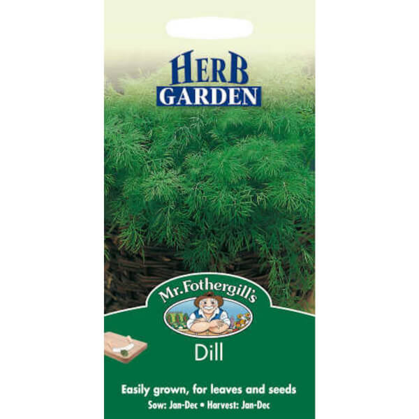 Mr. Fothergill's Dill (Anethum Graveolens) Seeds