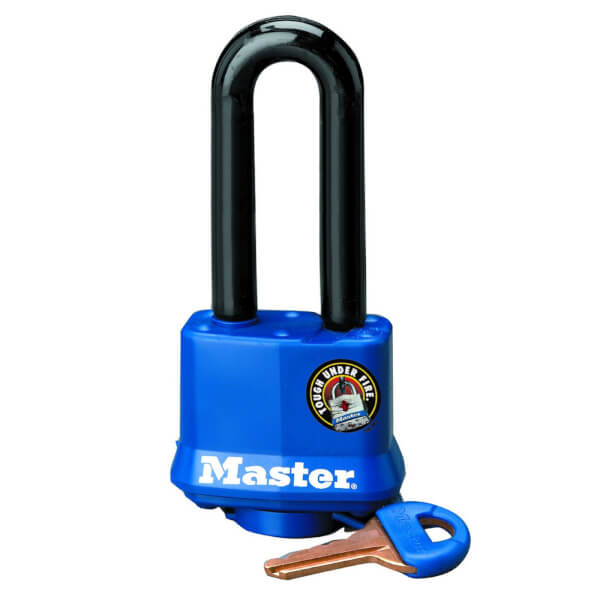 Master Lock Long Shackle Laminated Padlock - 40mm