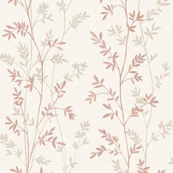 Grandeco Ardal Red Wallpaper
