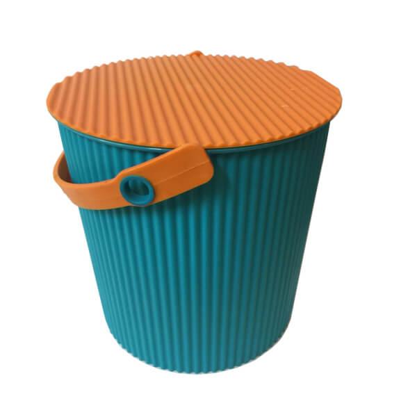 11L Round Crinkle Bucket