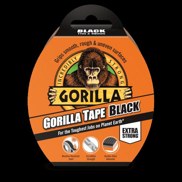 Gorilla Tape 11m Black