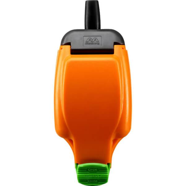 Masterplug Rewirable IP Rated Socket Orange