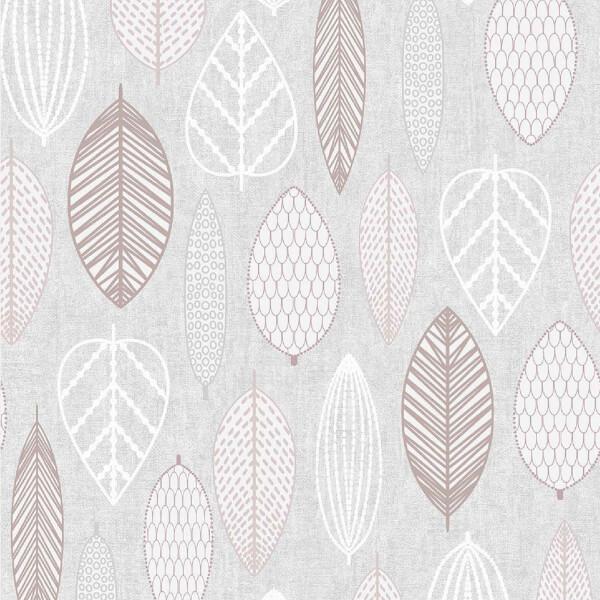 Superfresco Easy Tree Embossed Metallic Blush Wallpaper