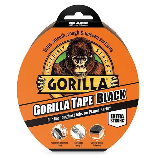 Gorilla Tape Black 32m