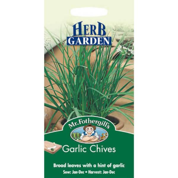 Mr. Fothergill's Garlic Chives (Allium Tuberosum) Seeds