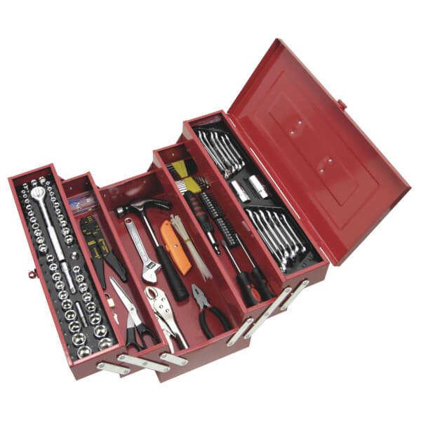 Supatool Tool Kit 159 Piece 1/4 inch & 3/8 inch Square Drive