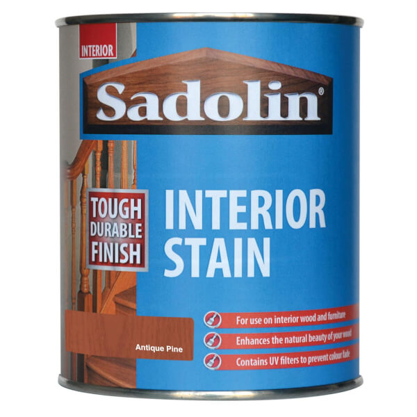 Sadolin Interior Stain - Antique Pine - 750ml
