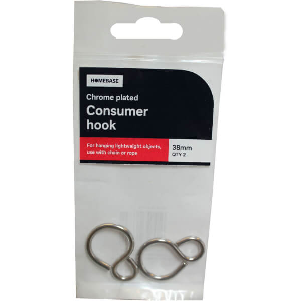 Consumer Hook CP - 38mm - 2 Pack