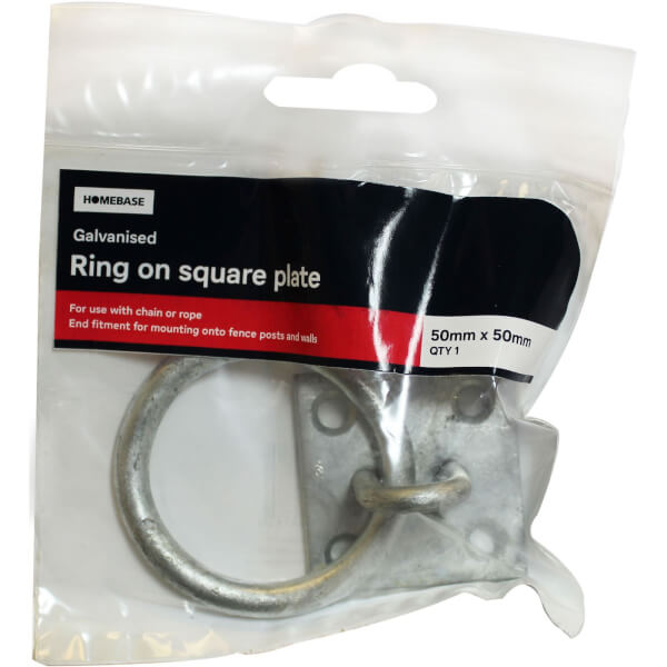 Ring On Plate Galv