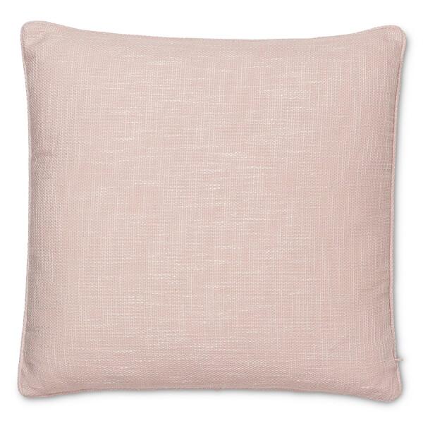 Semi Plain Textured Cushion - Pink