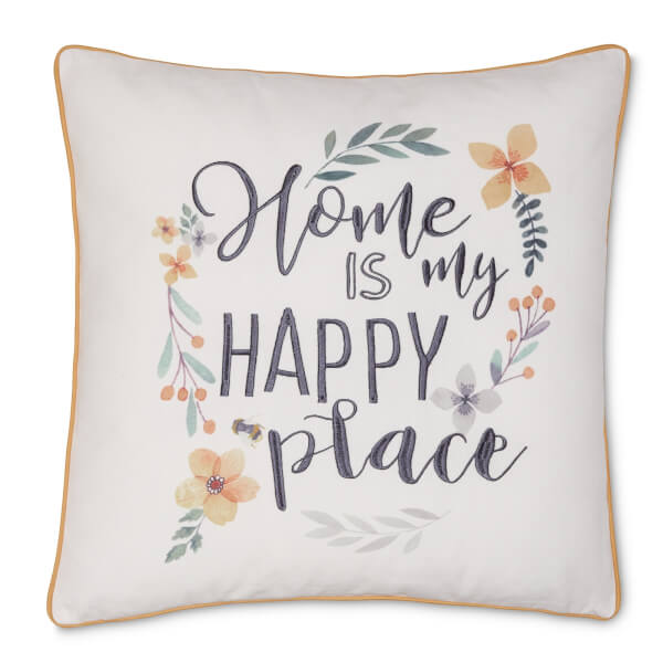 Home is My Happy Place Cushion