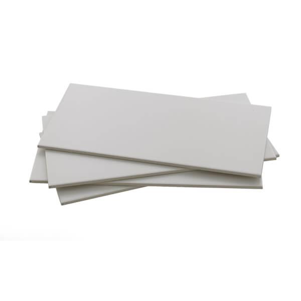 Monochrome White Wall Tile - 8 pack