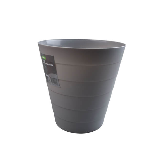Plastic Waste Bin - Grey