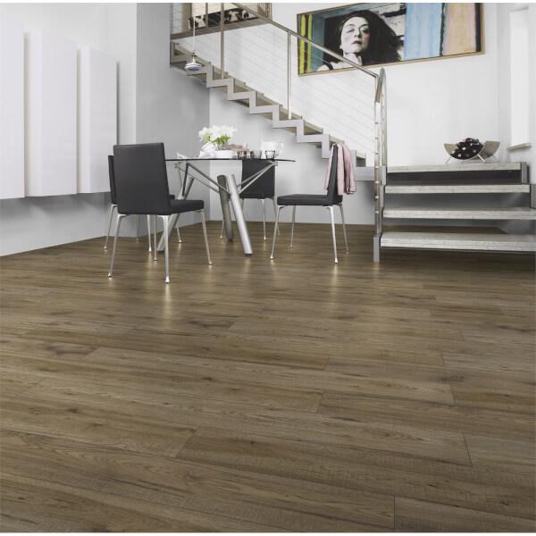 Burcote Oak Laminate Flooring Homebase, Grey Laminate Flooring Homebase