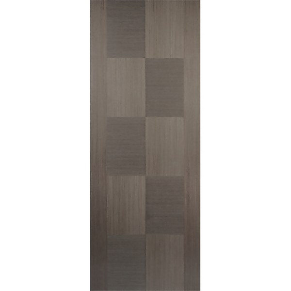 Apollo Internal Prefinished Chocolate Grey Door - 762 x 1981mm